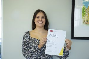 Maddy Awarded Accredited PR Practitioner